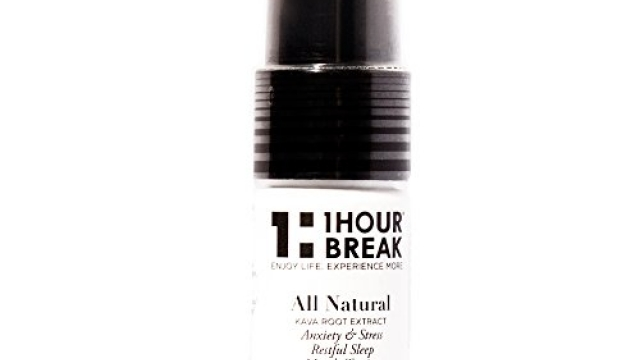 1Hour Break® Version 2.0 Cinnamon Flavor Kava Kava Tincture Spray – All Natural Relaxation and Stress reduction & Instant Anxiety Relief on Royal Kava