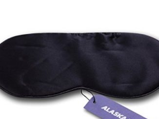 ALASKA BEAR® – Natural silk sleep mask & blindfold, super-smooth eye mask