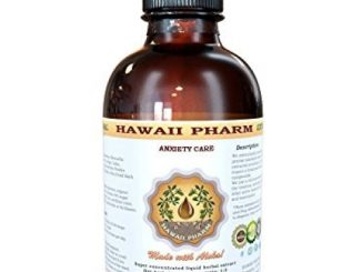 Anxiety Care Liquid Extract, Kava Kava (Piper Methysticum) Root, Valerian (Valeriana Officinalis) Root, Passion Flower (Passiflora Incarnata) Leaf Tincture Supplement 4 oz