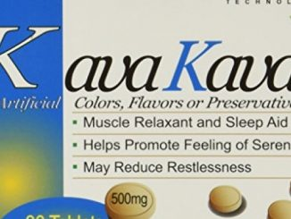 Kava Kava Muscle Relaxant and Sleep Aid 120mg (Pack of 6) 30 Tablets per Box – New Formula containing Kavalactones 30% – 50mg