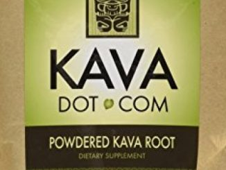 KavaDotCom Premium Freshly Powdered Vanuatu Kava Kava Root (4oz)