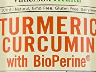 Vimerson Health Turmeric Curcumin with Bioperine Anti-Inflammatory, Antioxidant & Anti-Aging Supplement with 5mg of Black Pepper for Better Absorption. All Natural & Non-Gmo Joint Pain Relief Reviews