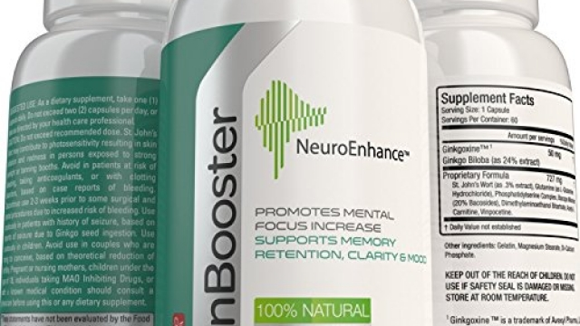 NeuroEnhance Natural Brain Function Booster Supplement for Memory, Focus, Mental Clarity & Cognitive Function Enhanced Ginkgo Biloba, St Johns Wort – Holistic Nootropics for Healthy Brain Cells