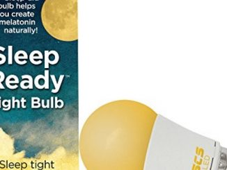 SCS Lighting Sleep-Ready Light. Sleep Better, Naturally! 7 watt LED AMBER Bulb. Supports healthy sleep patterns, Promotes Natural Melatonin Production with Ambient Low Blue Light.