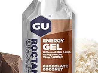 GU Energy Labs Roctane Ultra Endurance Energy Gel, Chocolate Coconut, 24 Count