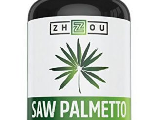 Saw Palmetto Capsules For Prostate Health – Extract & Berry Powder Complex To Reduce Frequent Urination – DHT Blocker To Fight Hair Loss – 500mg Natural Supplement – 100% Money-Back Guarantee