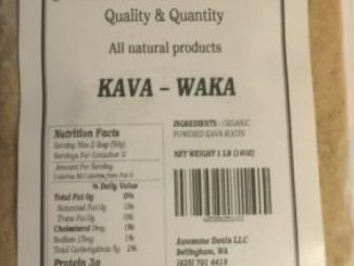 Senior Kava Waka 1 lbs. muscle relaxer. Weight lost on Royal Kava