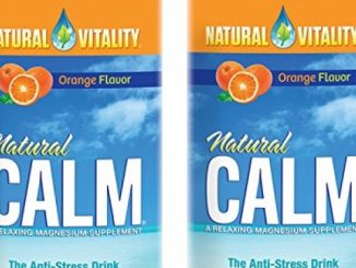 Natural Vitality Natural Magnesium Calm, Orange (2 Bottles of 16 Ounce) Reviews