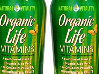 Natural Vitality Organic Life Vitamins, (2 Bottles of 30 Ounce)