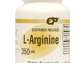 Endurance Products L-Arginine 350 mg Sustained Release Supplement, 400 Count