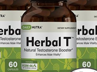 Herbal T Natural Testosterone Booster: Increase Energy, Endurance, & Libido. (3-Pack)