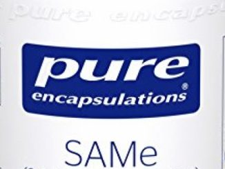 Pure Encapsulations – SAMe (S-Adenosylmethionine) – Hypoallergenic Supplement to Support Positive Mood and Cognitive Function* – 60 Capsules