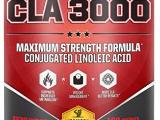 CLA 3000 Maximum Potency | 180 Softgels 3000mg CLA Per Serving, 6000mg Daily | Non-GMO Conjugated Linoleic Acid In Safflower CLA Weight Loss Supplements | Made in the USA