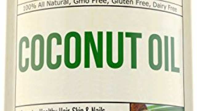 Coconut Oil with MCT & MCFA – Extra Virgin – Promotes Healthy Skin, Hair & Nails. Supports Heart, Immune & Digestive Health. Helps Boost Brain Function and Enhance Absorption of Nutrients & Minerals