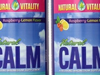 Natural Vitality Natural Calm Magnesium, Powder, Raspberry Lemon 16 Ounce 2-Pack Reviews