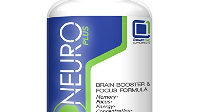 Neuro Plus Brain Booster & Focus Formula | Enhances Concentration, Cognitive Function & Mental Clarity | Memory Improvement | Energy Booster | Natural Nootropic | USA Made | Veggie Capsules