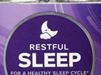 OLLY Restful Sleep Gummy Supplements, Blackberry Zen, 50 Count