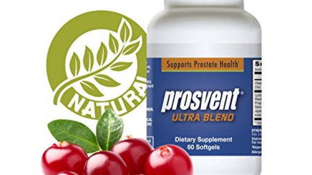 Prosvent Ultra Blend with Nettle and Cranberry – Natural Prostate Health Supplement 60ct capsule