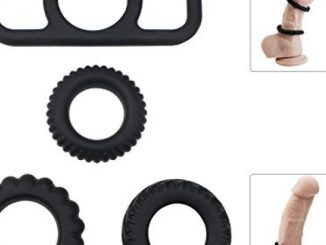 Penis Ring Set, PALOQUETH Premium Silicone Erection Rings Stretchy Cock Rings for Longer Lasting Orgasm (1 Pkg / 4 Rings) Reviews