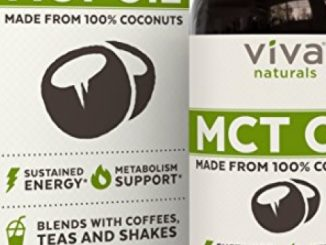Viva Naturals Non-GMO Pure Coconut MCT Oil (32 fl oz) – Gluten Free, Vegan and Paleo Diet Approved, Naturally Extracted and Sustainably Sourced