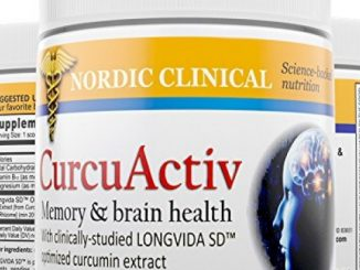 CurcuActiv Memory and Cognitive Health Powder, 3 Oz. Potent Antioxidant Promotes Brain Health and Memory Recall. Now With LONGVIDA-SD Curcumin, From Dr. De Silva