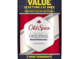 Old Spice High Endurance Long Lasting Stick Men's Deodorant, Original Scent – 3.0 Oz Ea