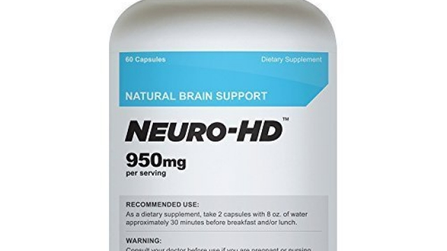 Cellusyn Neuro-HD Brain Supplement for Neural and Cognitive Enhancement, 60 Capsules – 1 Bottle