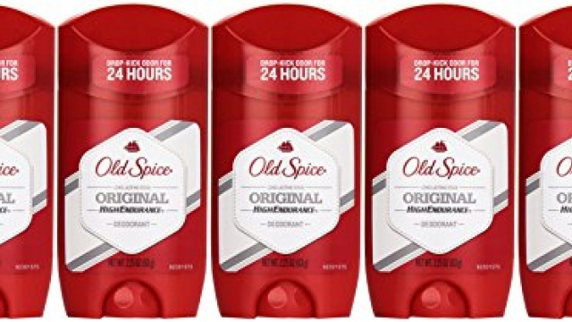 Old Spice High Endurance Original Scent Men's Deodorant, 2.25 Ounce (Pack of 5)