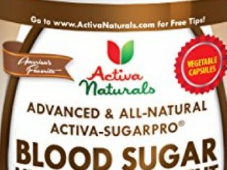 Activa Naturals Blood Sugar Supplement with Cinnamon, Gymnema & Advanced Natural Herbs for Diabetic Health Vitamins & Herbal Supplements Support for Healthy Glucose – 90 Veg. Capsules