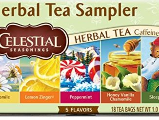 Celestial Seasonings Herbal Tea, Herbal Tea Sampler, 18 Count (Pack of 6)