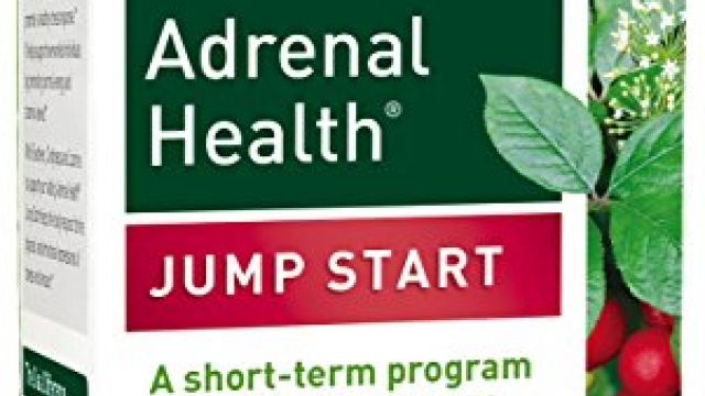 Gaia Herbs Adrenal Health Jump Start Supplement, 60 Count