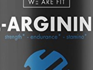 L-Arginine Supplement for Muscle Growth, Endurance, and Energy – Support Nitric Oxide Production and Cardio Health – Extra Strength N.O. Booster with AAKG, L-Citrulline Malate, Beta Alanine, 90 Caps.