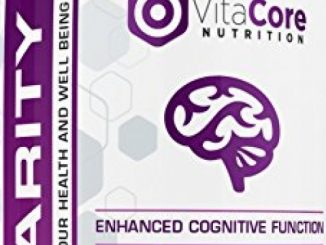 Vitacore Clarity Enhancer – Promotes Mental Focus & Concentration, Boosts Memory & Reduces Stress, Natural Cognitive Function Support, Healthy Herbal Ingredients