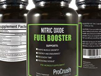 Pre Workout Nitric Oxide Booster Supplement- Contains L-Arginine to enhance strength, endurance, stamina, and energy. Workout longer and harder by ProCrush Formulas (60 count, 1 month supply) Reviews