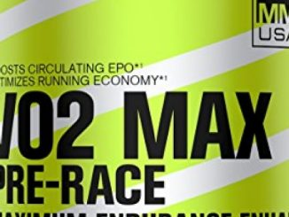 MMUSA VO2 MAX PRE-RACE MAXIMUM ENDURANCE ENHANCER, 500 Gram, Natural Kiwi