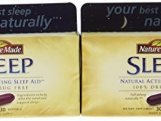 Nature Made Sleep – Natural Sleep Aid – 2 Boxes, 30 Softgels Each