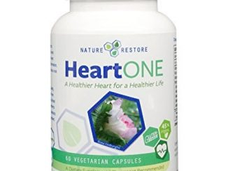 HeartOne, Complete Heart Health Supplement for Lower LDL Cholesterol and Better HDL Cholesterol, 60 capsules, Manufactured in USA, Non-GMO and Gluten Free
