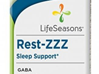 LifeSeasons Rest-ZZZ Sleep Support – Natural Sleep Supplement & Sleep Aid (60 Capsules)