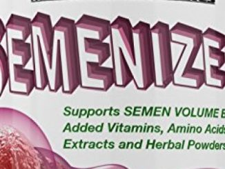 SEMENIZER 1390 MG- Loaded Semen Volumizer. Climax Enhancer for Male and Female. Cum Volume Enhancement. Helps Increase Sperm Volume Vigorously to Achieve Heightened Arousals. Reviews