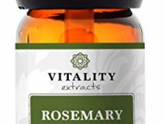 Vitality Extracts – Rosemary Essential Oil – 100% Pure, Therapeutic Grade, High Potency (10ml) – GCMS tested, high potency, holistic, aromatherapy, diffuse, diffuser, undiluted, cold relief, headache Reviews