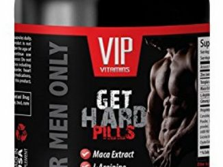 male enhancing pills erection best seller – GET HARD PILLS 2170Mg – FOR MEN ONLY – maca and tribulus – 1 Bottle (60 Capsules)