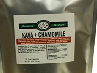 30 Kava & Chamomile Tea Bags – Stress • Anxiety • Relaxation • Calm