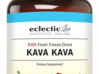 Eclectic Kava Freeze Dried Vegetables with Glass, Blue, 90 Count