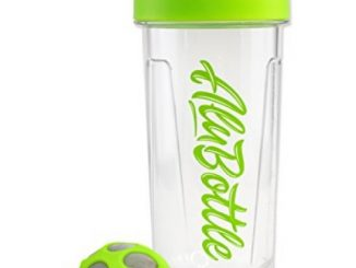Kavafied AluBottle Kava Maker – 36oz Capacity – Kava Drink Shell Cap (Green)