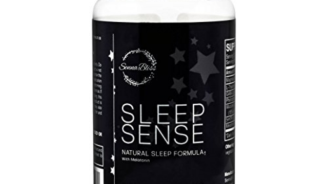 Sleep Sense – All Natural Sleep Aid Sleeping Pills with Melatonin, Magnesium, GABA, L-Theanine, 5-HTP, non habit forming sleep supplement maximum formula – 60 capsules