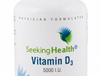 Vitamin D3 5000 IU | High-Potency Vitamin D3 Supplement | 100 Vegetarian Capsules | Seeking Health