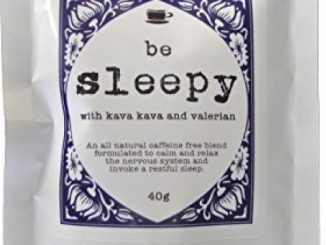 BE SLEEPY Relaxing Bedtime Tea with Valerian, Kava Root, Chamomile, and Lavender 40g – for Relaxing, Calming the Nervous System, and Promoting a Restful Sleep by Tea Tonix