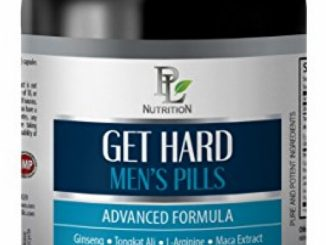 male enhancing pills erection best seller – GET HARD – MENS PILLS – ADVANCED FORMULA – l-arginine fitness labs – 1 Bottle (60 Capsules)