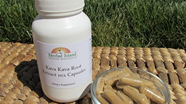 Kava Root Extract Capsules – 120 Count – Organic – Fiji Grown