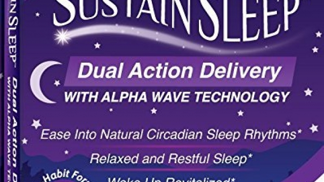 Sleep Aid :: Dual Release Melatonin :: Fast Dissolve Sleeping Capsules with Advanced Alpha Wave Technology for Faster, Deeper Sleep :: Natural, Made in America, 15 Caps, by Sustain Sleep Reviews